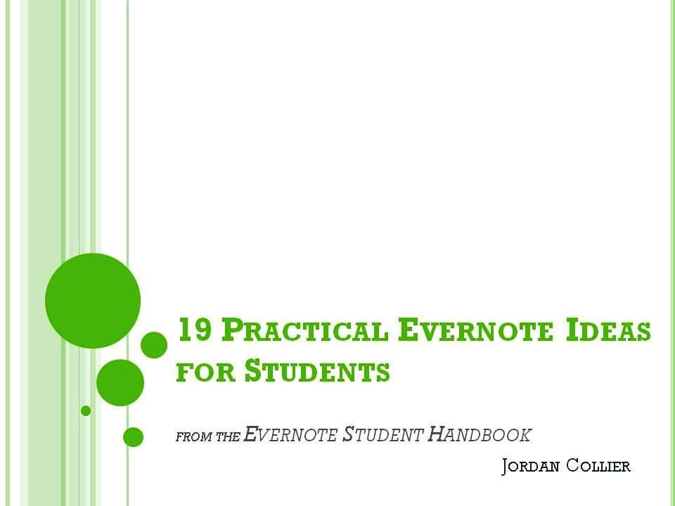 Evernote Student